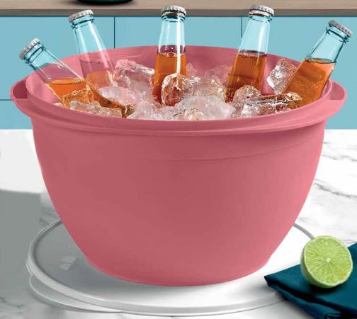 Tupperware Tigela Actualité 10 Litros Rosa Puce