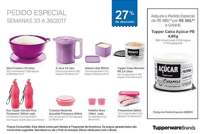 Tupperware Pedido Especial 09/2017 kit 10 peças + 1 Grátis