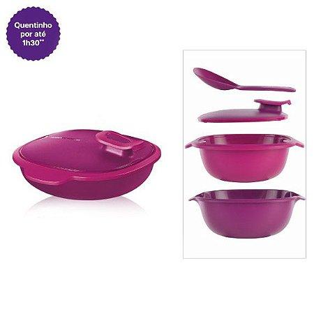 Tupperware Travessa Thermo Tup 1,3 litro Rosa