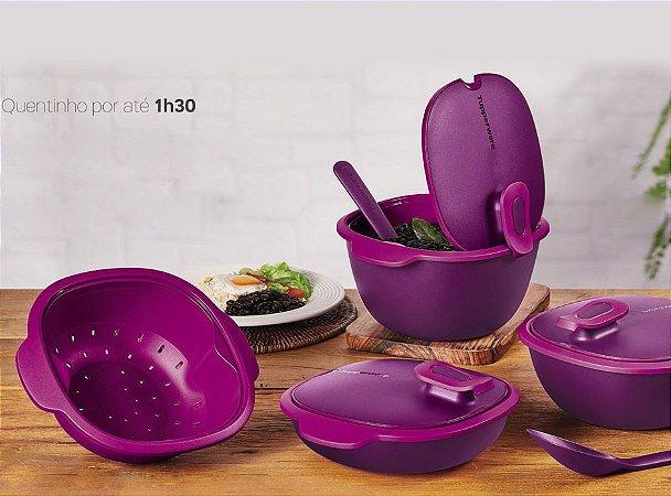 Tupperware Thermo Tup Púrpura kit 4 peças