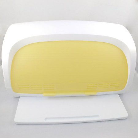 Tupperware Porta Pão Smart Branco Amarelo