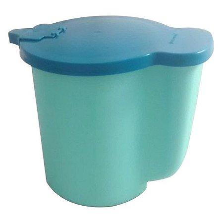 Tupperware Jarra para Aquecer no Micro-ondas 1 litro Verde Mint e Azul