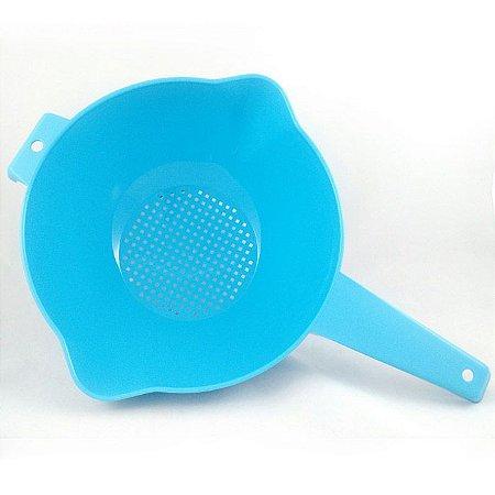 Tupperware Escorredor Indispensável Azul Claro