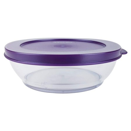 Tupperware Tigela Clear Bowl 410ml Roxa
