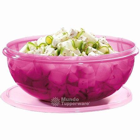 Tupperware Maravilhosa Saladeira Rosa 6,5 litros