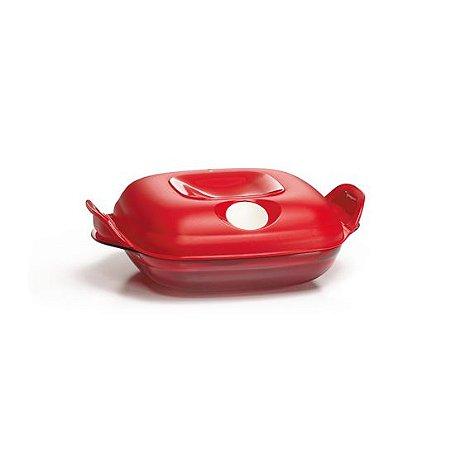 Tupperware Cristal Pop 475ml Vermelha
