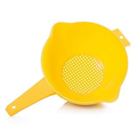 Tupperware Escorredor Indispensável Amarelo