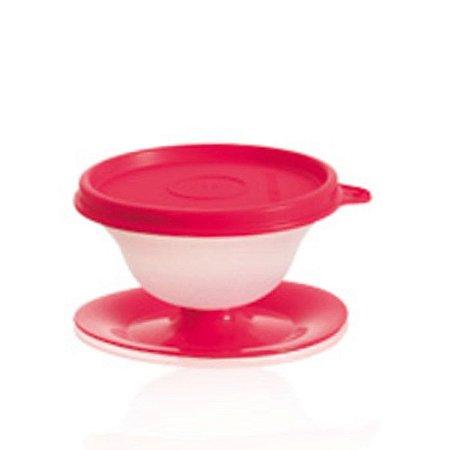 Tupperware Tacinha Sobremesa 130 ml vermelho
