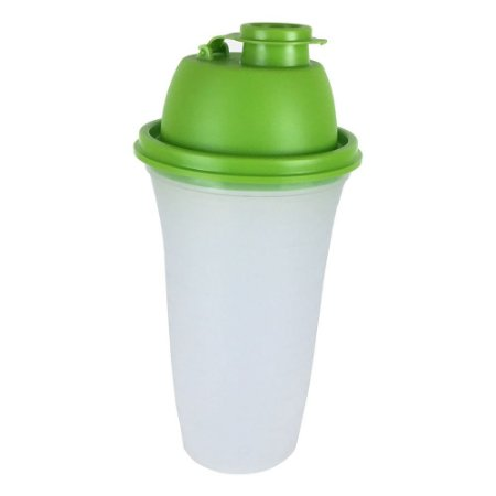 Tupperware Quick Shake II 500ml Transparente tampa verde