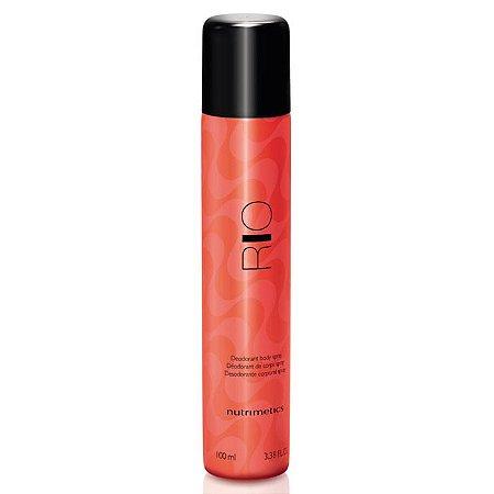 Nutrimetics Desodorante Corporal Spray Rio Feminino 100ml
