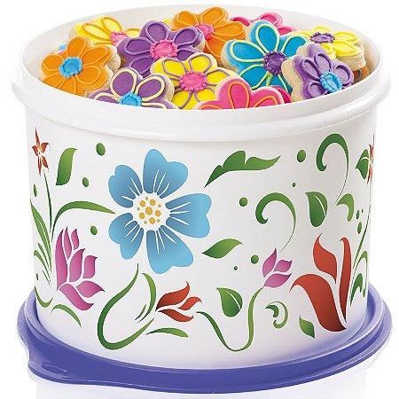 Tupperware Caixa Flores Tropicais 2,4 litros