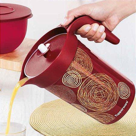 Tupperware A Jarra Colors Fios de Ouro 2 litros
