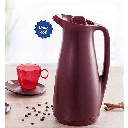 Tupperware Garrafa Térmica Café Merlot 1 litro