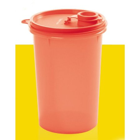 Tupperware Guarda Suco 1 litro Coral