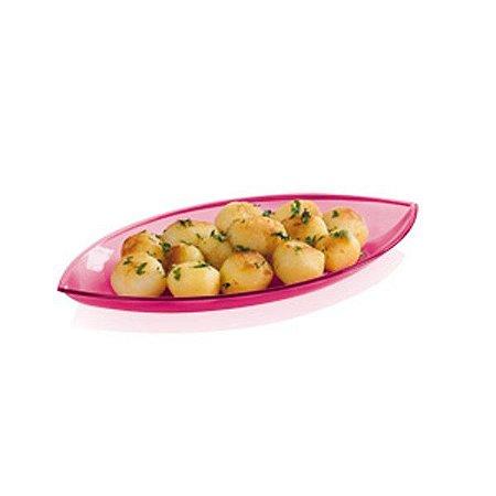 Tupperware Travessa Pequena Lotus Rosa