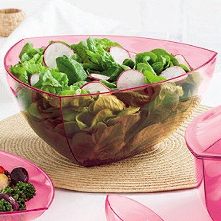 Tupperware Saladeira Lotus 4 litros Rosa