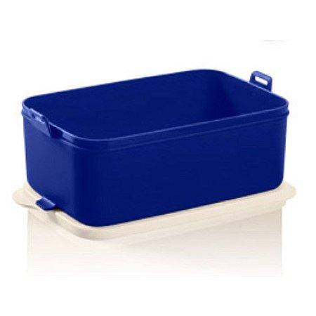 Tupperware Picnic Line sem Alça 1,5 litro Azul