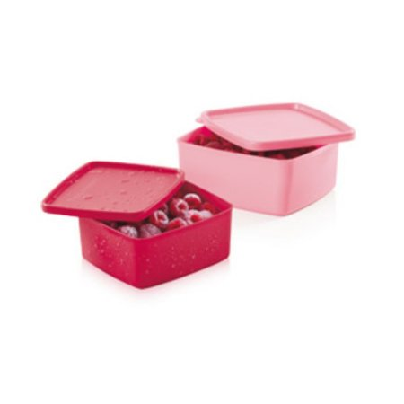 Tupperware Jeitosinho Framboesa + Rosa Quartzo 400ml