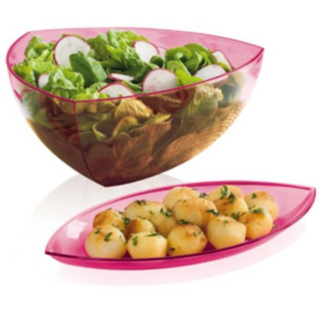 Tupperware Saladeira Lotus 4 litros + Travessa Pequena