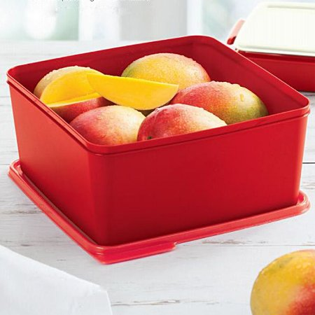 Tupperware Basic Line 5 litros Vermelho