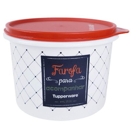 Tupperware Caixa Farofa Bistrô 500g