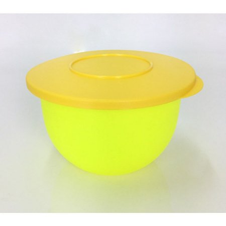 Tupperware Tigela Murano 1,3 litro Amarela Neon e Amarelo