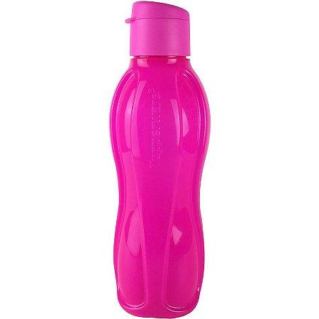 Tupperware Eco Tupper Garrafa Plus Rosa Neon 1 litro