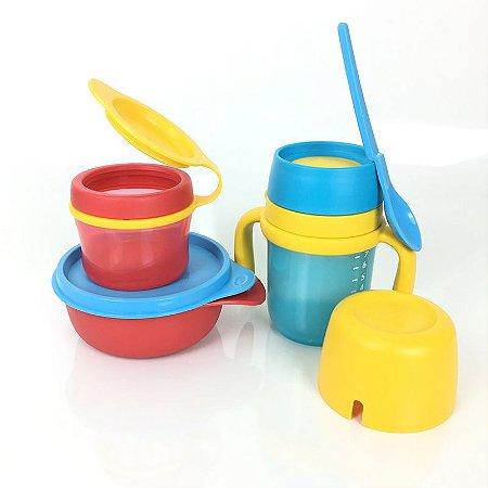 Tupperware Kit Infantil Twinkle Totz 4 peças