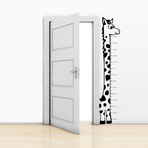Adesivo Girafa com Régua (1,5m)