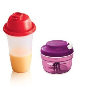 Tupperware Turbo Chef + Quick Shake kit 2 Peças