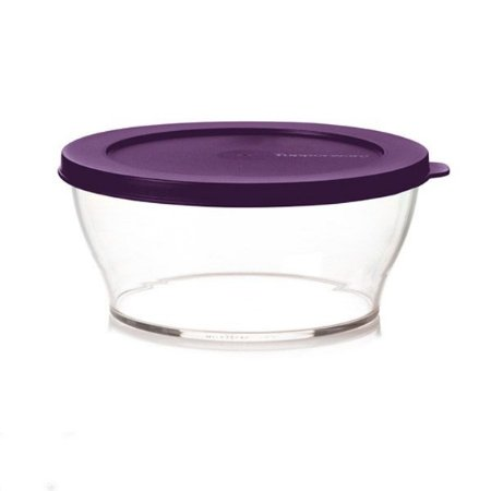 Tupperware Tigela Clear 2,4 litros Roxa