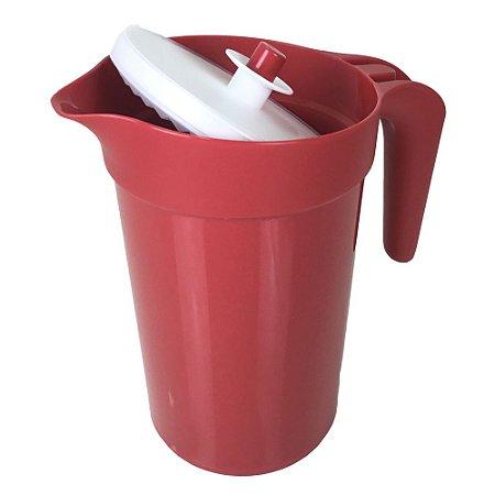 Tupperware A Jarra Colors Vermelho 2 litros