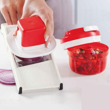 Tupperware Super Chef Junior + Turbo Chef Vermelho
