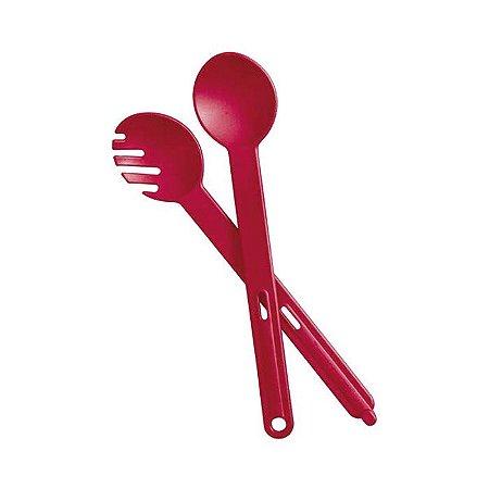 Tupperware Colher + Garfo Redondo Cherry