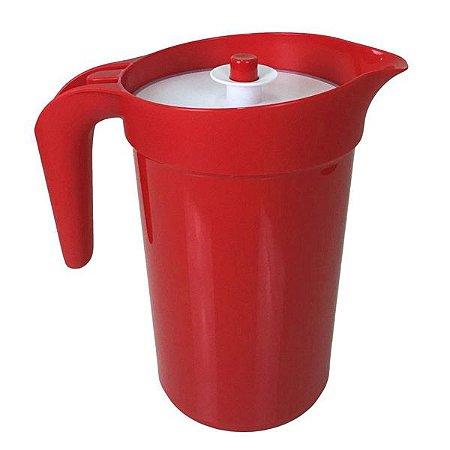 Tupperware A Jarra Colors Vermelho Claro 2 litros