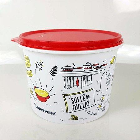 Tupperware Caixa Livro de Receitas 1,7 litro - Suflê de Queijo