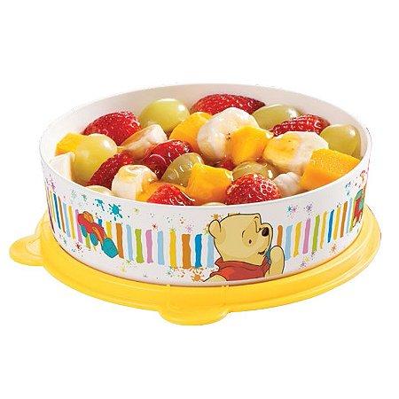 Tupperware Pratinho Pooh 500ml + Talheres pooh e Tigrão Grátis