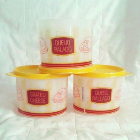 Tupperware Redondinha para Queijo Ralado 500 ml