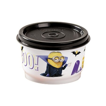 Tupperware Potinho Minions 140ml Preto