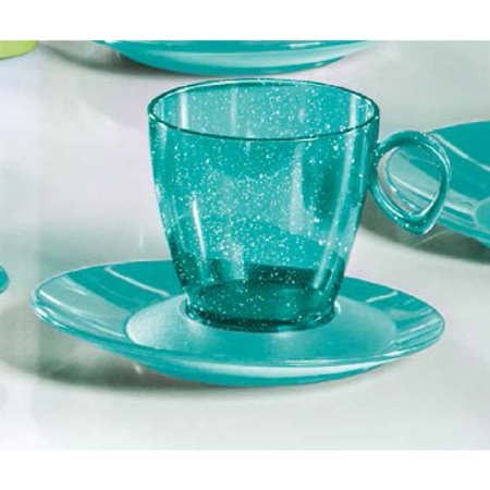 Tupperware Xícara Design com Gliiter 180ml Verde