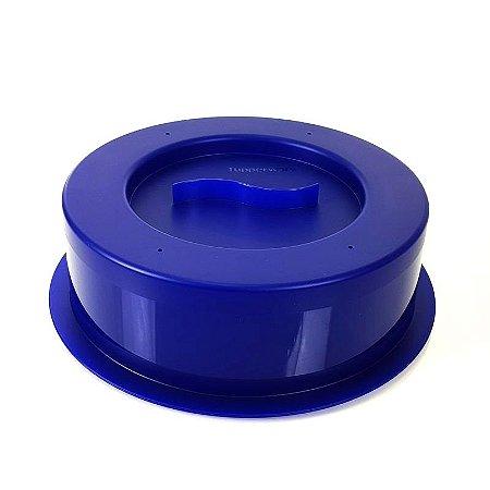 Tupperware Tampa para Micro-ondas Azul 24cm