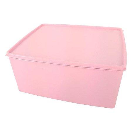 Tupperware Espaçosa Plus 6,5 litros Rosa