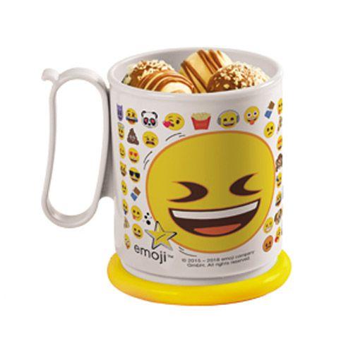 Tupperware Caneca Jumbo Emoji Divertido 550ml