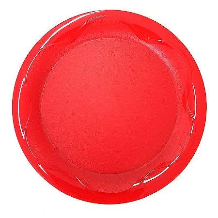 Tupperware Prato Floresta Vermelho 28cm