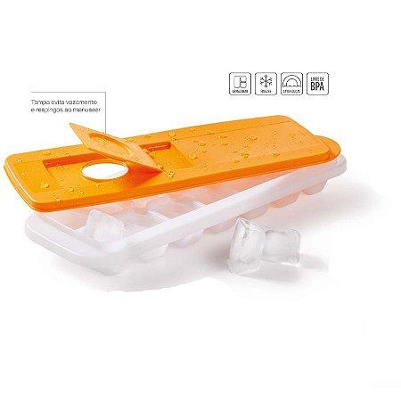 Tupperware Forma de Gelo 14 Cubos Papaya