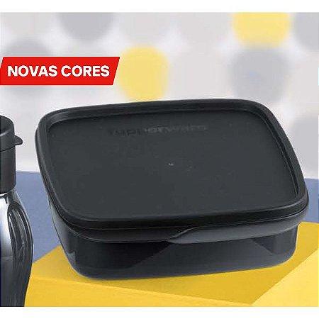 Tupperware Basic Line Com Divisórias Preto 550ml