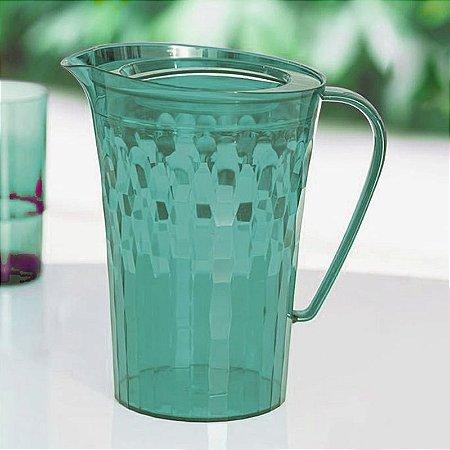 Tupperware Jarra Prisma 2 litros Verde Mint