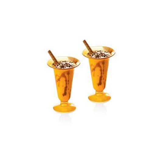 Tupperware Tacinha Pemier 200ml Amarela Kit 2 peças