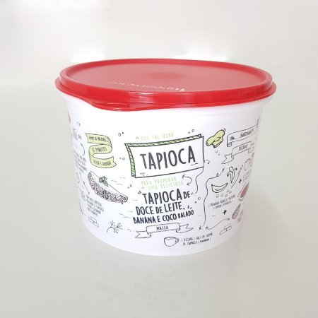 Tupperware Caixa Livro de Receitas 2,4 Litros - Tapioca