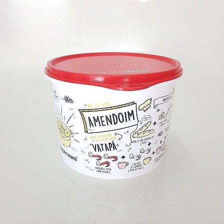 Tupperware Caixa Livro de Receitas 1,7 litro - Amendoim